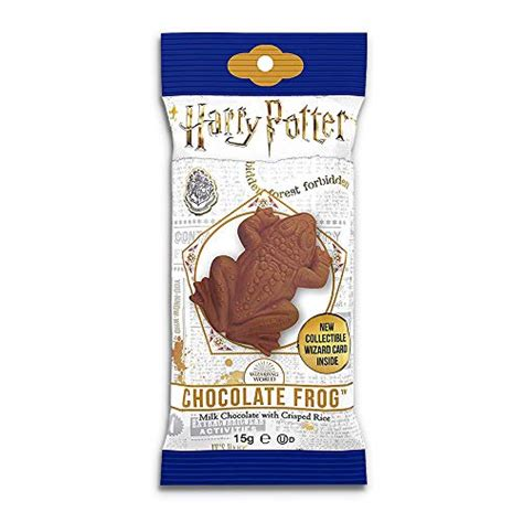 Harry Potter Chocolate Frog with Wizard Trading Card (0