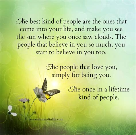 Lessons Learned in LifeThe once in a lifetime kind of