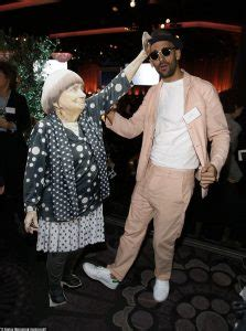 JR and 'cut out' Agnes Varda hang with the other Oscar