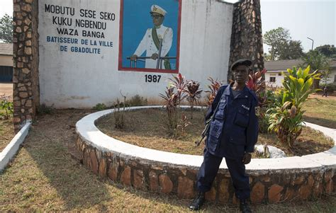 President Mobutu's ruined jungle paradise, Gbadolite - in