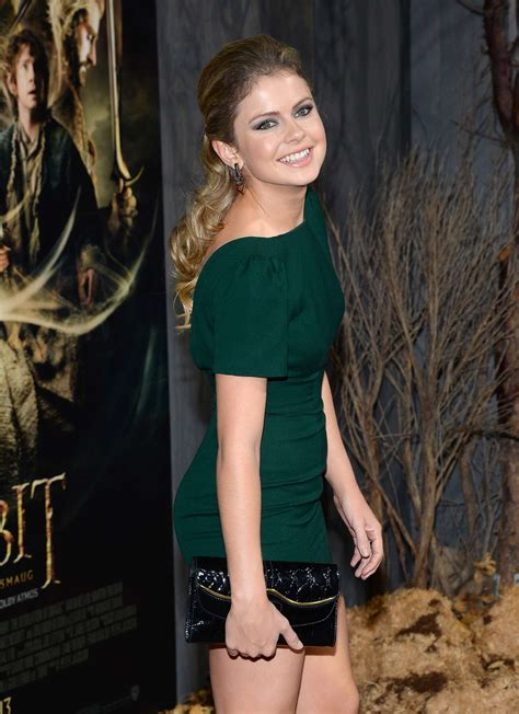 Rose McIver - The Hobbit: The Desolation Of Smaug premiere