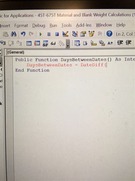 Why do some functions in MS Excel 2016 like DATEDIF is