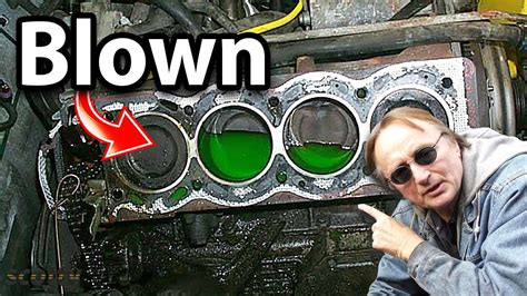 How to Tell if Your Head Gasket is Blown - YouTube