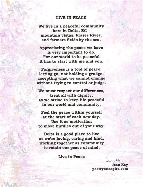 United Nations International Day of Peace – poetrytoinspire