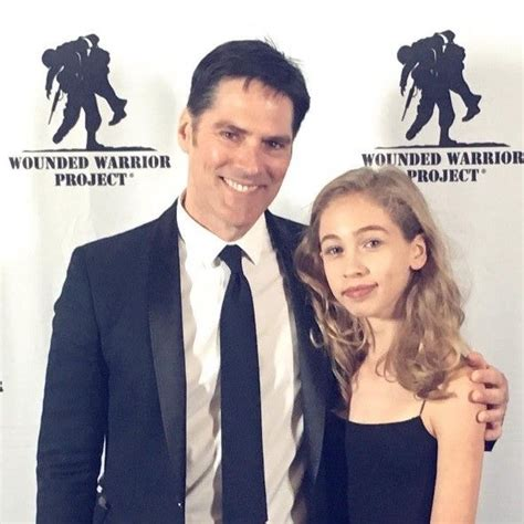 Tom with daughter, Agatha in NYC supporting Wounded