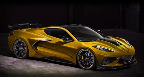 New Corvette C8 ZR1 With Extra Downforce Mods Could Look