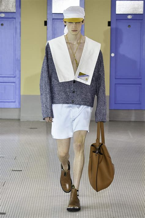 LANVIN SPRING SUMMER 2020 MEN'S COLLECTION | The Skinny Beep