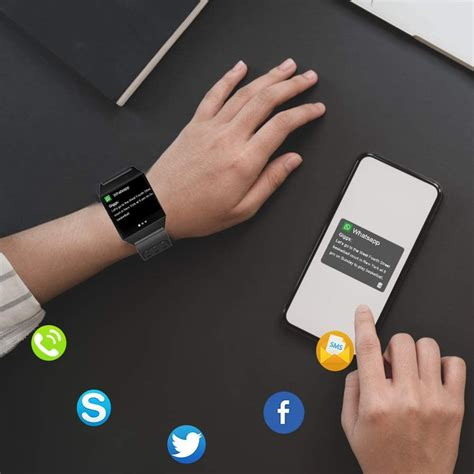 Smart Watch Compatible with iPhone and Android Phones