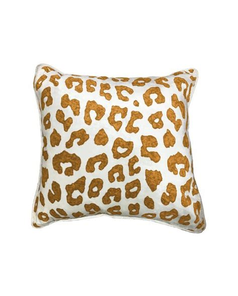 50x50cm - Leopard Kuddfodral - Leo - Classic Collection