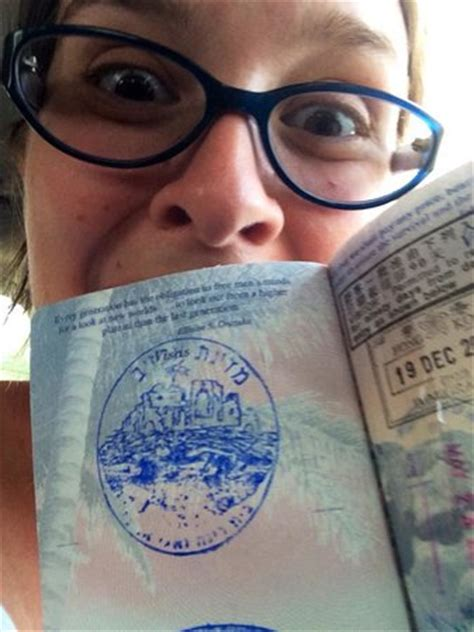 My entry stamp to Akhzivland - Picture of Akhzivland
