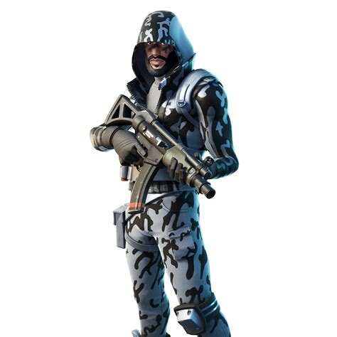 Fortnite Snow Striker Skin - Outfit, PNGs, Images - Pro