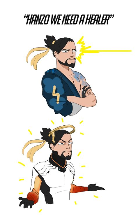 Hanzo the Healer | Overwatch | Know Your Meme