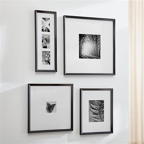 Icon Black Wall Frames   Crate and Barrel
