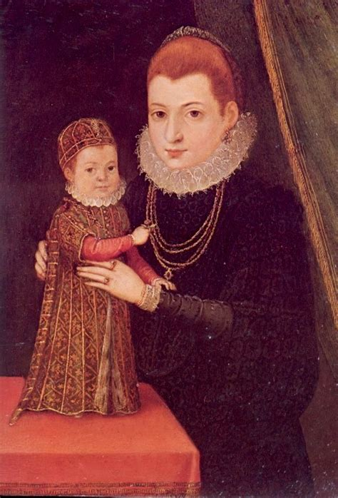 Mary and her son James - Mary Queen of Scots Photo