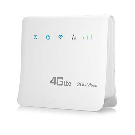 Buy Unlocked 300Mbps 4G Mobile Wifi Routers with LAN Port