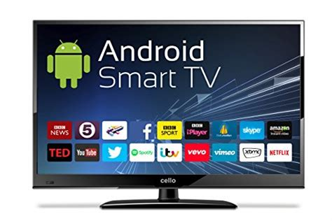 12 Volt Cello C24ANSMT 24″ Android Smart LED TV with Wi-Fi