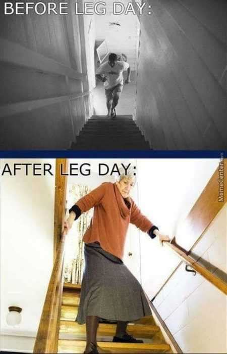 36 Hilarious Leg Day Memes For When You're Sore And Feel