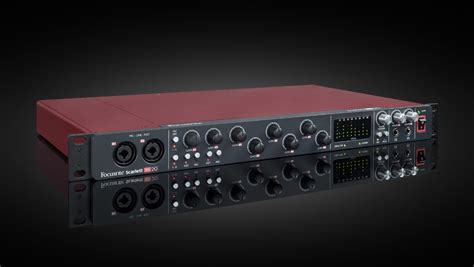 Focusrite Updates Driver and Firmware for Several Scarlett