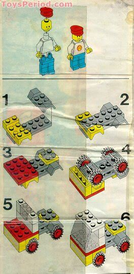 LEGO 671-1 Shell Fuel Tanker Set Parts Inventory and