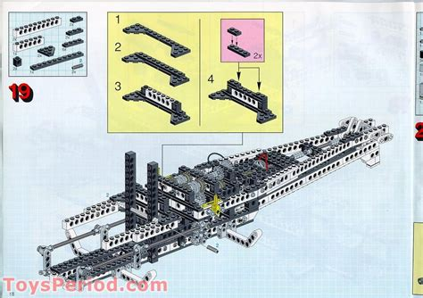 LEGO 8480 Space Shuttle Set Parts Inventory and