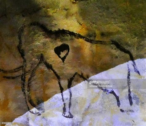Cave painting found in the Cave of Altamira, located in