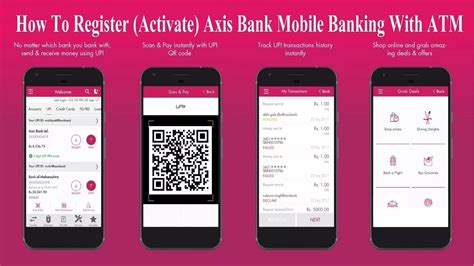 How to Register | Activate AXIS BANK MOBILE BANKING With