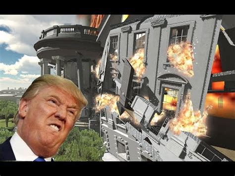 Demolition 3D: White House Destroyed! (featuring Donald