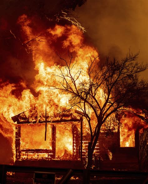 Northern California wildfires threatening thousands of