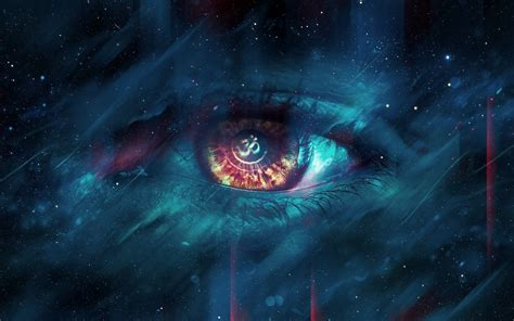 Wallpaper : psychedelic, space, eyes 2560x1600