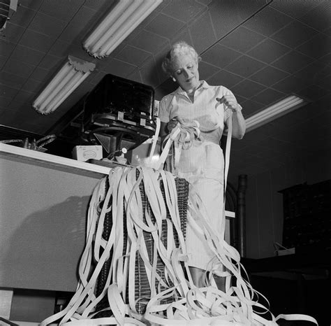Ticker Tape Photograph by Evans