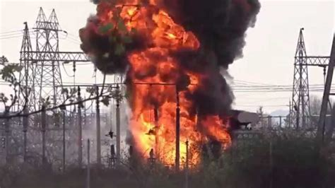 Fire Outbreak At TCN Power Transmission Station Abuja