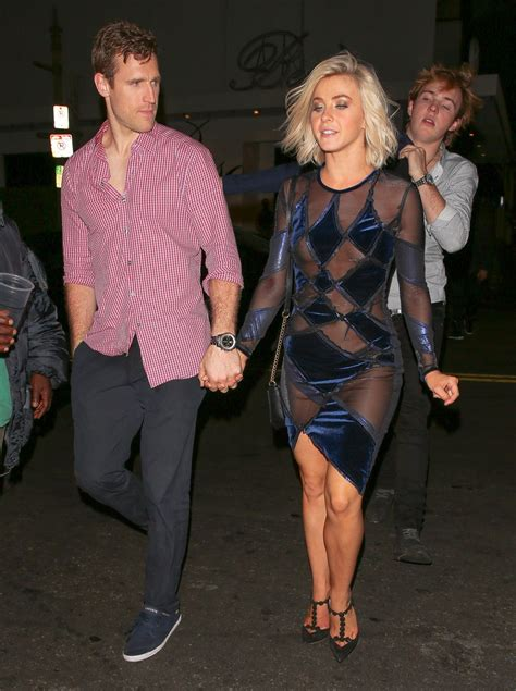 JULIANNE HOUGH Arrives at Dancing with the Stars Finale