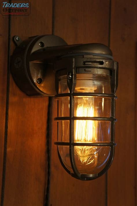 Vintage Industrial Explosion Proof Wall Lamp Sconce