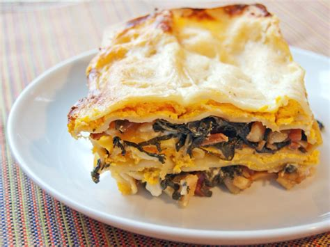 Meat Lite: Butternut Squash Lasagna With Bacon-Braised