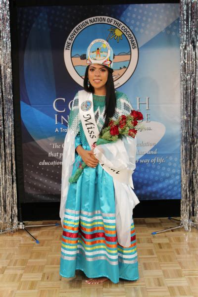 New Miss Cocopah Crowned - Cocopah Indian Tribe