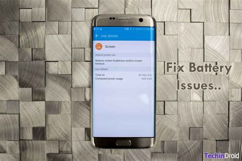 How to Fix Galaxy S6 & S7 Battery Draining issues After update