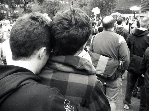 """NY FOR GAY MARRIAGE: Union Square rally: """"Young boys in lo"""