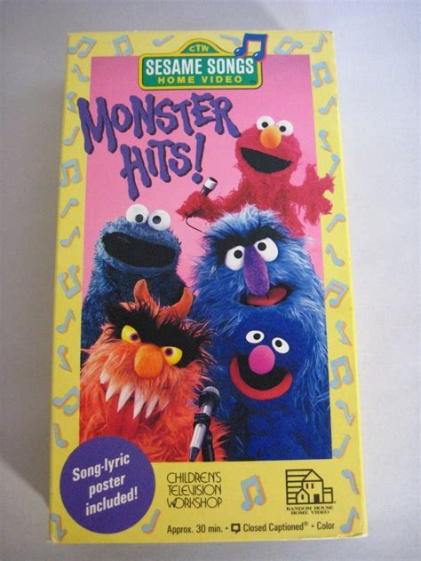 Opening To Sesame Songs: Monster Hits 1990 VHS (From