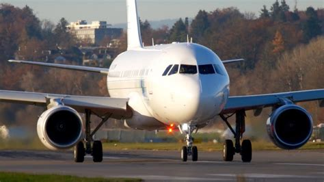 VIP Airbus A319 Corporate Jet * K5 Aviation * Take-Off at