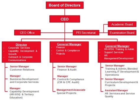 Organisational Chart :: HCS Group – Singapore's Centre for