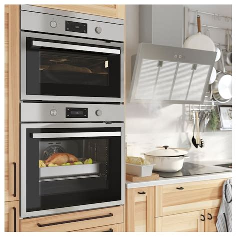 ANRÄTTA stainless steel, Microwave combi with forced air