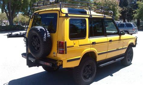Purchase used RUST-FREE CALIFORNIA 1997 LAND ROVER