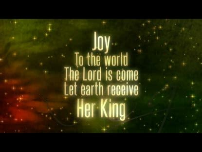 Joy To The World Flexx Video Worship Song Track with