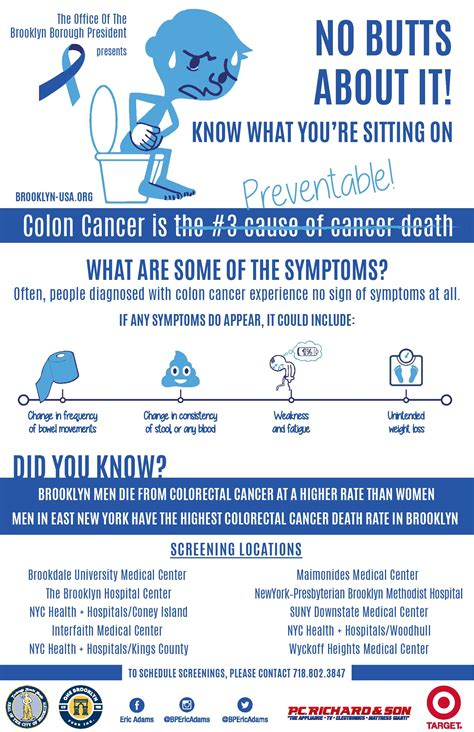 Free Screenings for Colon Cancer Awareness Month | Office