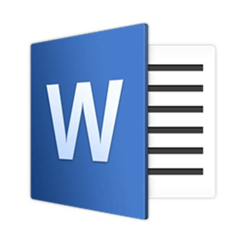 Word for Mac 16 JasonZigrino icon 1024x1024px (ico, png