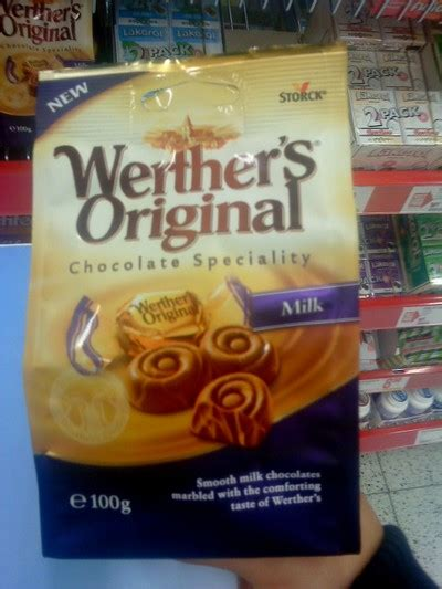 Hittat på Willys: Werthers Original - Chocolate Speciality