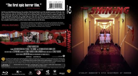 The Shining 1980 Blu-ray Custom Cover (With images)   Dvd