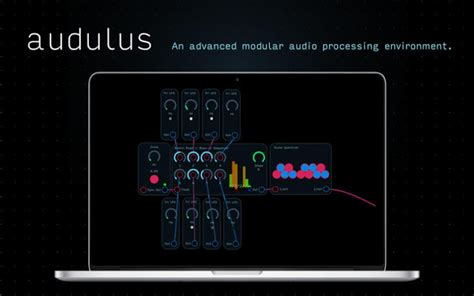 Audulus 3: now available for Windows and Linux - SYNTH ANATOMY