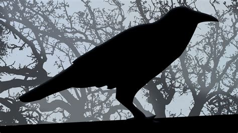 """SCARY! Edgar Allan Poe's """"THE RAVEN"""" read by Edgar Oliver"""