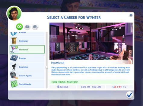Updated Careers   Sims 4 jobs, Sims 4 body mods, Tumblr sims 4